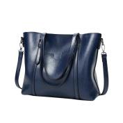 Oyedens Women Bucket Bags Designer Leather Shoulder Bag Top-Handle Bags