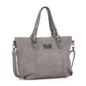 Lois Women's Top-Handle Bag White Ice L