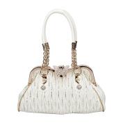 Bonjanvye Butterfly Shoulder Bags Crossover Bag for Women Handbags Pu Leather