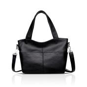 Tisdaini 2018 handbags new shoulder bag large-capacity fashion PU soft bag Messenger bag