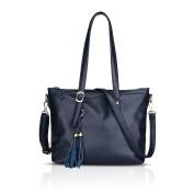 Tisdaini Women's handbags fashion casual PU soft bag trendy shoulder bag diagonal package