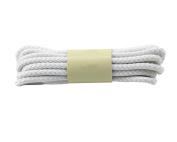 Round Waxed Dress Shoes Shoelaces Boots Shoe Laces (1 Pair) - White