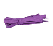 Flat Shoelaces [1 Pairs] Thick - For Shoes, Sneakers & Boots - Purple