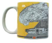 Star Wars Millennium Falcon Tech 590ml Ceramic Mug