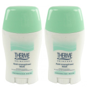 Therme skincare Stick Deodorant Anti-Perspirant Deodorant Roll-On NO Alcohol Multipack 2x 50g