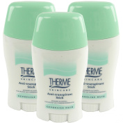 Therme skincare Stick Deodorant Anti-Perspirant Deodorant Roll-On NO Alcohol Multipack 3x50g