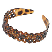 GIZZY® Ladies, Girls, Useful Lattice Head Band with Comb Inset.