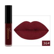 Mate Lipstick, 3PCS New Fashion Waterproof Long Lasting Liquid Lip sticks Cosmetic Sexy Makeup Lip Gloss Kit