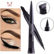 Ladygo Bullet Shape Eyeliner Stamp with Eyeliner Pen, Waterproof & Long Lasting, Easy to Make Cat Eyes, Makeup in 3 Senconds Tool