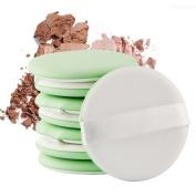 Makeup Sponge 8pcs Cosmetic Facial Air Puff Set Blender Powder Foundation Concealer,B