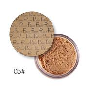 Pudaier Oil Control Powder Makeup Long Lasting Bronzer Matte Mineral Dark Skin Contour Loose Face Powder Colour 5