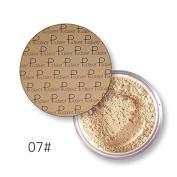 Pudaier Oil Control Powder Makeup Long Lasting Bronzer Matte Mineral Dark Skin Contour Loose Face Powder Colour 7