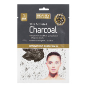 Beauty Formulas Detoxifying Bubble Mask with Activated Charcoal