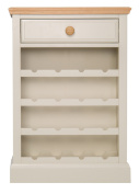 Highgrove Grey Painted Wine Cabinet