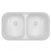 A350 | Double Bowl Undermount Sink