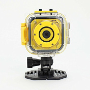 Jeda Children Kids Camera Waterproof Digital Video HD Action Camera 1080P Sports Camera Camcorder DV for Boys Girls Birthday Holiday Gift Learn Camera Toy 4.5cm LCD Screen
