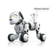 Robot Dog Smart Dog Electronic Pets, RC Funny Interactive Puppy Sing Dance Walking Remote Control Electronic Pet Rechargeable Mode