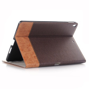 SM-T550 25cm Case,Hulorry Slim Fit Heavy Duty Stand Vintage Style Slim Fit Hard Cover Protective Smart Case for Samsung Galaxy Tab SM-T550/P550