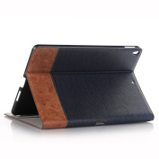 Case for iPad Pro 25cm ,Hulorry Slim Fit Heavy Duty Stand Vintage Style Slim Fit Hard Cover Protective Smart Case for iPad Pro 25cm Tablet