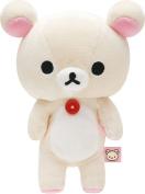 "San-X Rilakkuma Korilakkuma Plush Doll S 19cm ""Korilakkuma's Secret"" MR75201"