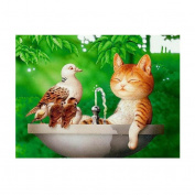dragonaur Cute Animal Pattern 5D DIY Embroidery Diamond Painting Wall Sticker Home Decor size S204