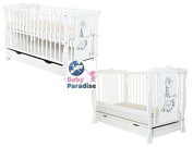 """BABY COT WITH DRAWER/JUNIOR BED """"DIANA"""" FREE FOAM MATTRESS QUICK DELIVERY"""