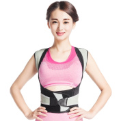 Deluxe Posture Corrector Lumbar Support Belt Round Shoulder And Scoliosis Back Brace With Inserts Orthosis Corset Supports Thin Waist Health Orthopaedic Band Correct Rectify Hump Anti-Bending Underwear