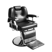 Barber Chair, Qivange Adjustable Reclining Leather Hairdressing Shaving Chair Styling Beauty Salon Chair Hydraulic