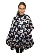 Junior Kids Childrens Unisex Hairdessing Gown Hair Cape - 'Love Mice' Cartoon Print