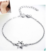 Wicemoon Star Female Silver Jewellery Bracelet Simple Couple Accessories Sweet Birthday Gift Silver Jewellery