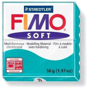 Craft 1 Bread Fimo Soft Polymer Clay Pate Mint Blue Ref