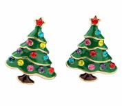 Skyeye Christmas Tree Earring Earrings Cute Kids Girls Women Eardrop Xmas Gift Party Studs