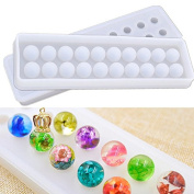 Silicone Beads Pendant Mould Mould Casting Resin for Necklace Bracelet Jewellery Making Craft DIY