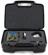 Hard Storage Carrying Case For XIKEZAN Trail & Game Camera, Toguard H50 ,Crenova Game & Trail Camera, Abask Trail Camera. Stores Infrared Camera, Charger And Accessories, Safely.