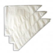 Youkara 100 pcs Disposable SugarCraft Fondant Cake Icing Decorating Bags Cake Piping Bags