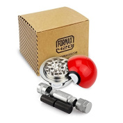 FORMAX420 Pokemon poke ball, grinder, spice mill, 3 pieces, 55 mm crusher., with pollen press
