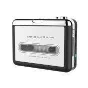 SH-EU-EP218 Portable Cassette to MP3 Music Converter - Transfer Analogue Tape Audio Signal to Digital File for PC & MAC
