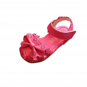 Jamicy Girls Shoes, Kids Princess Girls Floral Bowknot Lace Casual Sandals Shoes