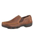 Roper 1785 Kid's Vintage Leather Mesh Insets All Over Vintage Brown 11