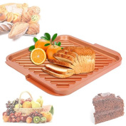 Copper Double Flat Grill And Griddle Reversible For Bbq Kitchen Baking Dishes & Pans Pan Stove Top Burner Plate