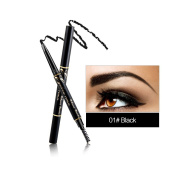 RELEASE BEAUTY Waterproof Retractable Long Lasting Eyebrow Pencil Eye Black Number 1