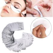 Zhichengbosi Lint Free Lash Extension Eye Gel Patches for Eyelash Extension Eye Mask Beauty Tool, 100 PCS set