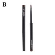 Lovely House Rotary Gel Cream Brown Eye Liner Black Eyeliner Pen Makeup Cosmetic Waterproof