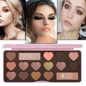 Women Makeup Eye Shadow - Morwind Eyeshadow Palette Makeup Contour Metallic Eye Shadow Palette, Makeup Warm Eyeshadow Palette