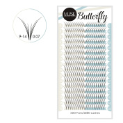 MUSE® 0.07 4D Butterfly Pre fanned Volume Lashes Russian Fans Eyelash Extensions