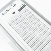 seashine lashes 2D 0.07 C 15mm long stem premade volume fans eyelash extension high quality silk lashes .