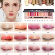 Prevently New Beauty Cosmetic Makeup Shimmer Matte Naked 12 Colours Eyeshadow Palette Sombras