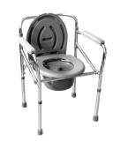 LI JING SHOP- Medical health care Detached Toilet frame Old man Pregnant women Take a bath Toilet chair Collapsible Toilet