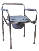LI JING SHOP- Multifunction stainless steel Commode Old man Pregnant women Take a bath Toilet chair Medical health care Detached Toilet frame