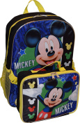 Disney Mickey Mouse 41cm Backpack W/ Detachable Lunch Box